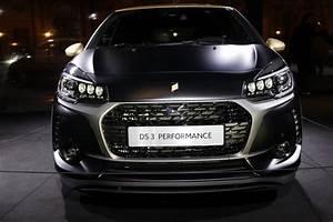 Ds3 Vert Saphir : nouvelle ds3 2016 la version ds3 performance dans le d tail nouvelle ds3 performance l 39 argus ~ Gottalentnigeria.com Avis de Voitures