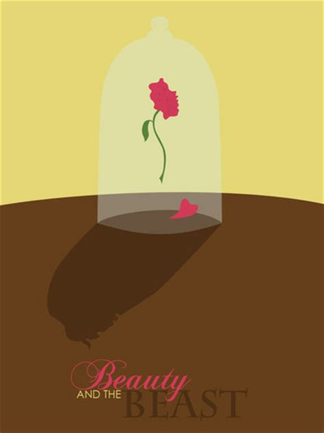 Disney Princess Images Beauty And The Beast Minimalist