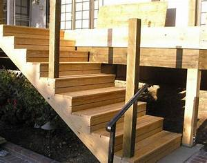 Holztreppe Außen Selber Bauen : holz au entreppe selber bauen mit oder ohne gel nder garten pinterest treppe aussentreppe ~ Buech-reservation.com Haus und Dekorationen