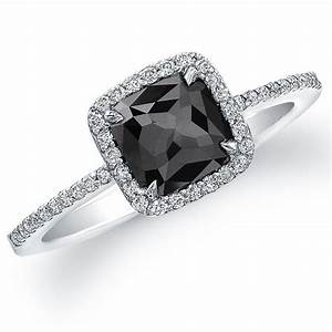 Why choose black diamond engagement rings pink diamond for Black wedding rings with diamonds