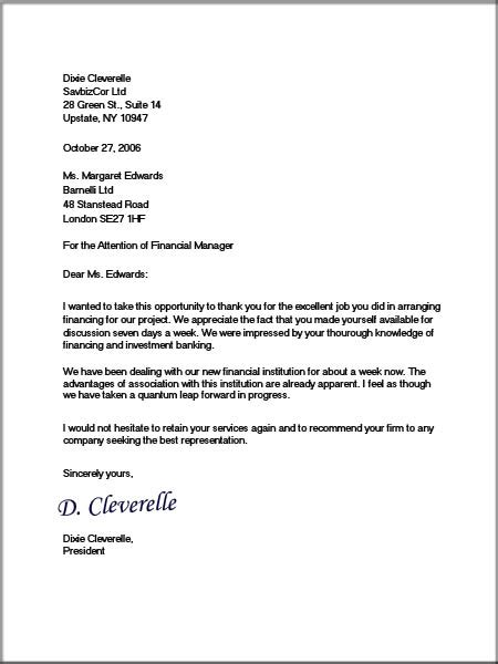 formal business letters ehow uk