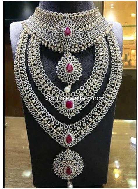 diamond jewellery set  p satyanarayan sons jewellers
