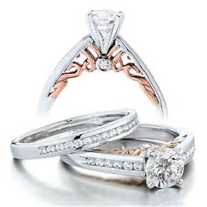 engagement rings for 1 carat vintage wedding ring set for in white gold jewelocean