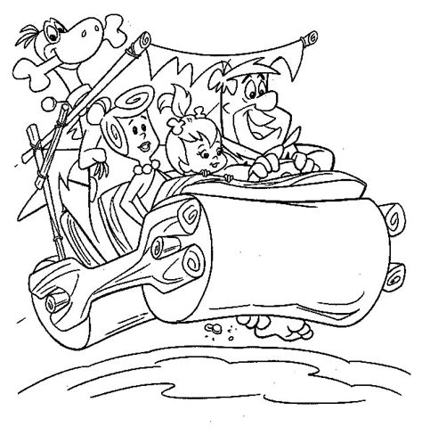 Kleurplaat Billy En Bambam by N 29 Kleurplaten Flintstones