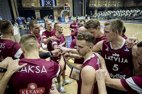 Vīru atriebes misija. Latvijas basketbolistiem izšķirošās ...