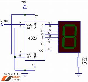 0 9 Counter Circuit Diagram