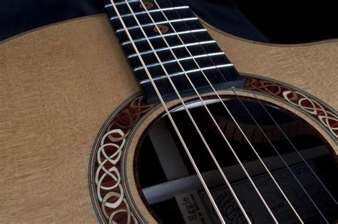 details a linville celtic cutaway acoustic guitar by eggle