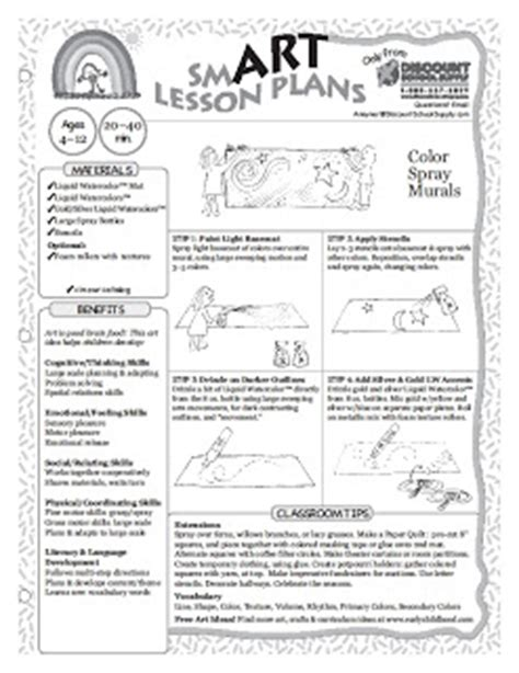 creative art lesson plans for preschoolers projects for elementary school age lesson plans 651