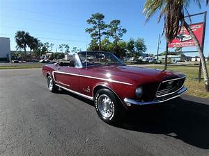 Used 1968 Ford Mustang Convertible For Sale ($29,500)   Rose Motorsports, Inc. Stock #2415