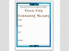 Community Event Flyer Template Images Template Design Ideas