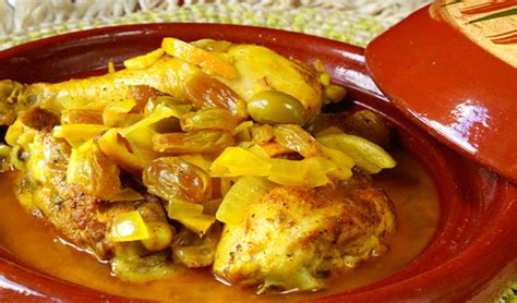 cuisine marocaine poulet au menu tajine au poulet marocain salade de tomates au