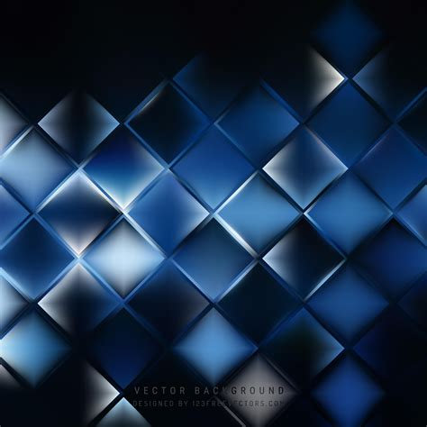 Abstract Black White Blue by Abstract Blue Black Square Background Pattern