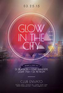 Glow In The Dark Flyer Templates In Psd  U2022 Stylewish