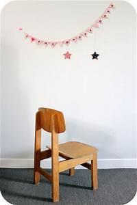 Chaise Enfant Vintage : petite chaise enfant vintage en bois l 39 atelier du petit parc ~ Teatrodelosmanantiales.com Idées de Décoration