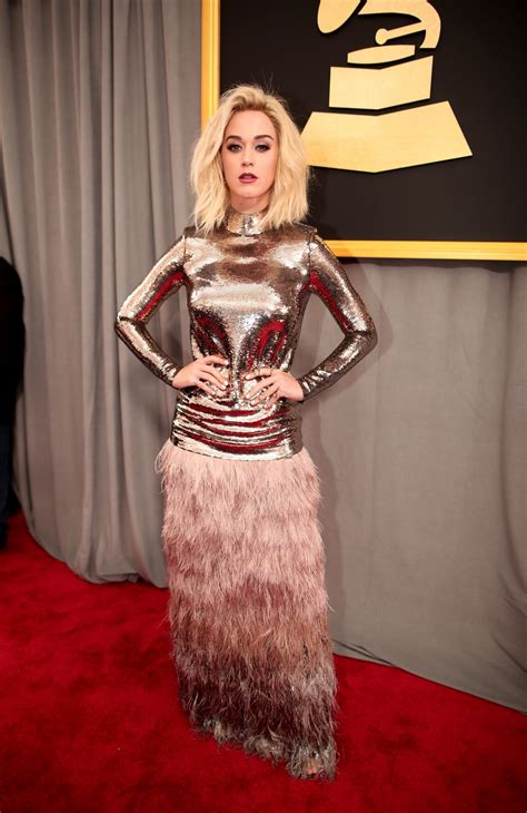 Katy Perry on Red Carpet – GRAMMY Awards in Los Angeles 2 ...
