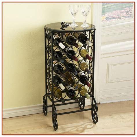 Metal Floor Standing Wine Racks