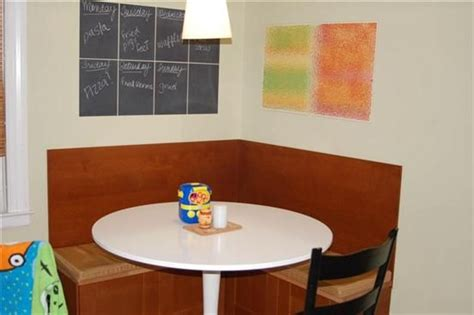 kitchen banquette seating project images  pinterest