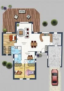 maison traditionnelle la chevroliere 44 campagne plan With ordinary plan maison de campagne 4 sims 4 maison construction build house