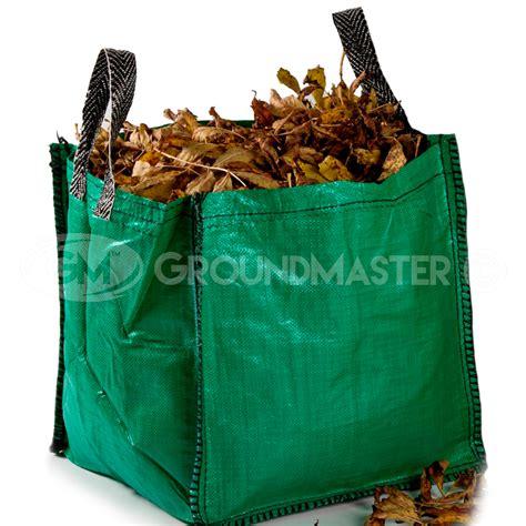 groundmaster  garden waste bags heavy duty large