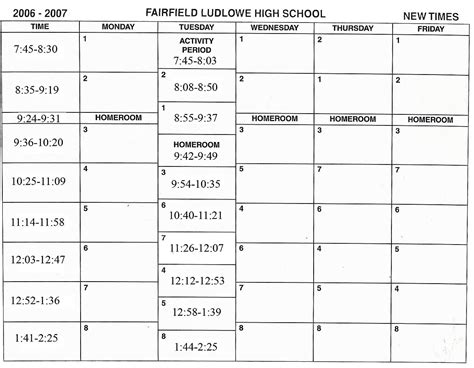 Time Management Schedule Template For High School Students by School Timetable Wikipedia