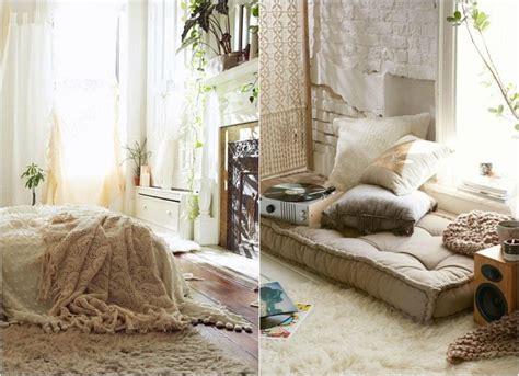 chambre bohème blanche et pleine de charme pour un chez