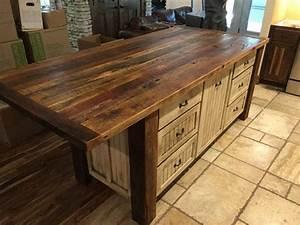 Kücheninsel Mit Tisch : k cheninsel mit lagerung rustikal shabby chic holz ~ Yasmunasinghe.com Haus und Dekorationen