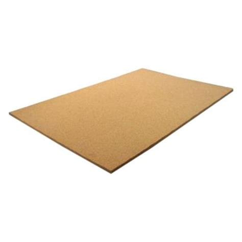 cork board wall tiles home depot 1 2 in x 2 ft x 4 ft cork board panel 231268 the home
