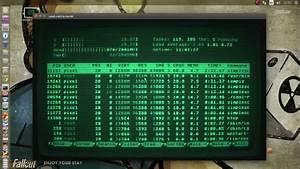 Real Fallout Terminal  Crt  Cool-retro-term Profile