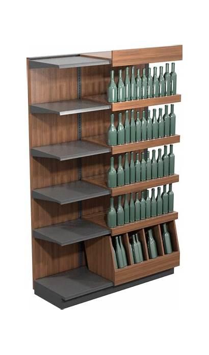 Shelving Shelf Display Retail Supermarket Freestanding Interchangeable