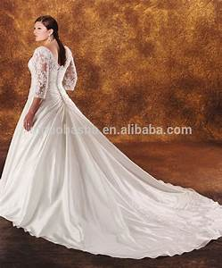2014 taffeta ball gown plus size wedding dress v neck With plus size wedding dresses with long trains