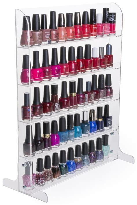 nail display rack nail rack acrylic stand wall mount manicure