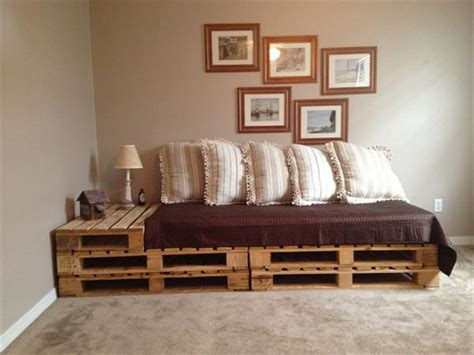 Sofa Bed Plans by Diy Pallet Sofa Bed Designs And Styles Pallets Designs