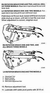 Mercruiser Shift Cable Adjustment Diagram