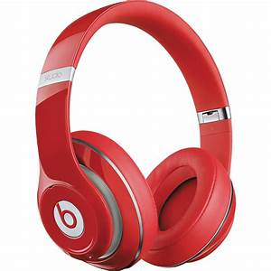 Beats by Dr. Dre Studio Wireless Headphones (Red) MH8K2AM ...