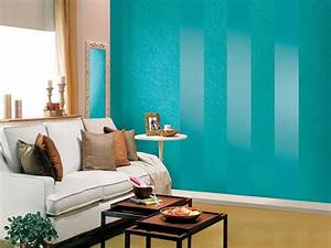 Asian paint wall design for living room home combo for Designer wall paints for living room
