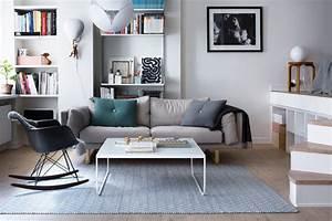 Aménagement D Un Salon : am nagement fonctionnel d 39 un petit appartement ~ Zukunftsfamilie.com Idées de Décoration