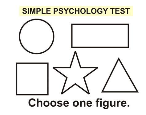 A Simple Psychology Test