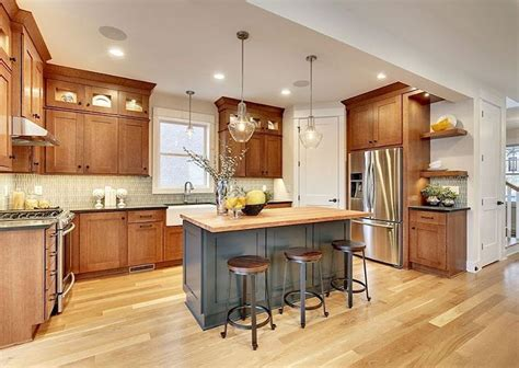 23+ Prodigious Kitchen Ideas Oak Wood Cabinets