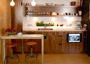 Petit Bar Cuisine : plan de travail bar cuisine 13 cuisine compacte pour petit espace cuisines multiplex evtod ~ Teatrodelosmanantiales.com Idées de Décoration