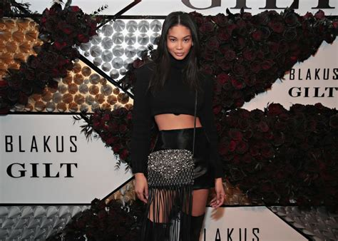 chanel iman  exclusive  launch  blakus handbags