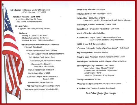 veterans day program veterans assembly 2014 recap high school