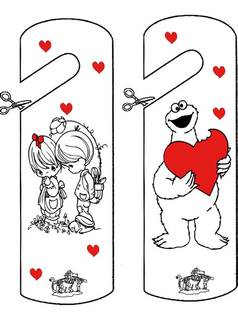 valentijn deurhanger moederdagvaderdag deurhanger