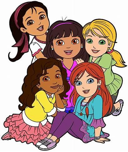 Friends Clipart Cartoon Clip Friend Friendship Dora