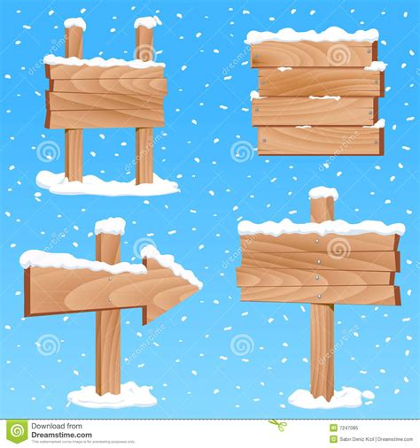 winter sign vector royalty  stock photo image
