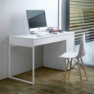 Bureau Pas Cher But : bureau design prado blanc achat vente bureau sur ~ Teatrodelosmanantiales.com Idées de Décoration