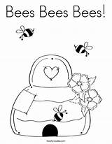 Bee Coloring Honey Pages Bees Beehive Flower Bumble Printable Twisty Noodle Spring Popular Maya Getcoloringpages Coloringhome sketch template