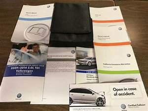 2013 Volkswagen Jetta Owners Manual 13 Book Only Oem Owner