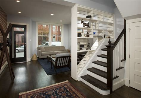 narrow house plan washington dc row house design renovation and remodeling