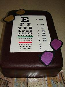 Birthday Chart Ideas Eyeglasses Nice Decoration Eye Chart Milk Chocolate