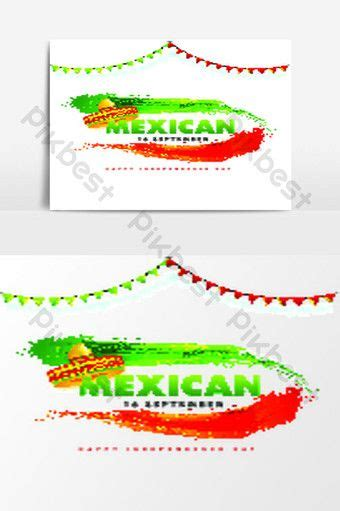16 September, Mexican Independence Day poster design with ...